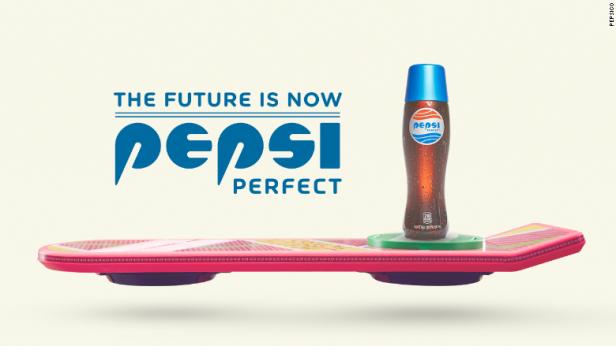 Pepsi Perfect, con el tradicional sabor del refresco de cola.