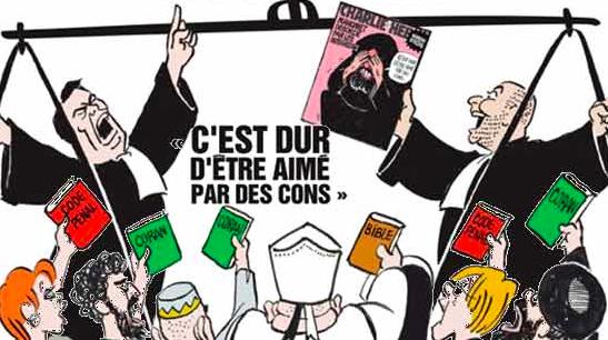 Cartel el documental sobre Charlie Hebdo.