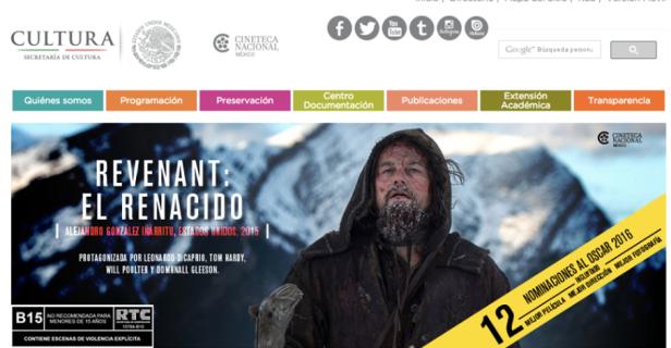 Cineteca proyectó El Renacido a la par que el estreno comercial.