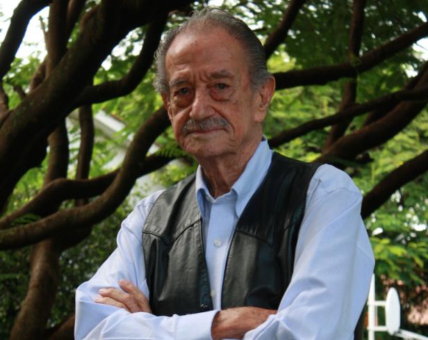 El actor Mario Almada. Foto: Esaú Ponce.
