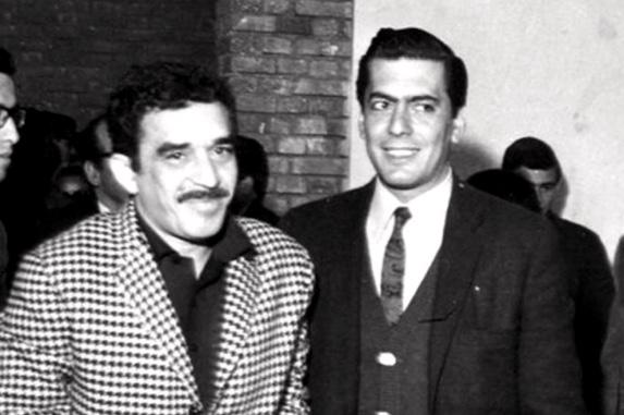 Gabo y Mario Vargas Llosa
