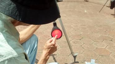 ¡Aquí está el eclipse! Foto: José Antonio Monterrosas Figueiras