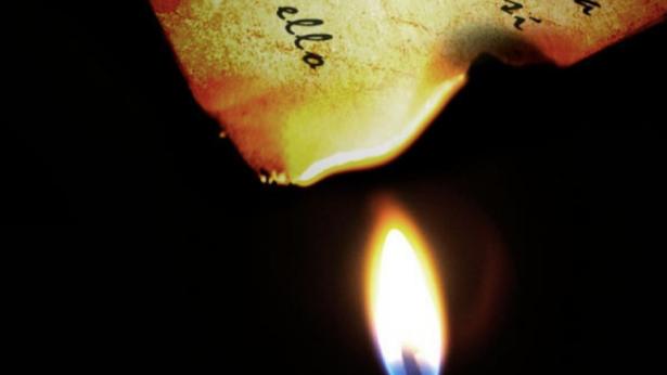 Carta quemada