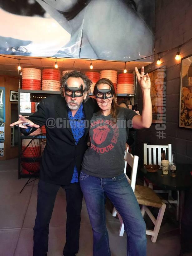 Tim Burton y Viviana Garcia