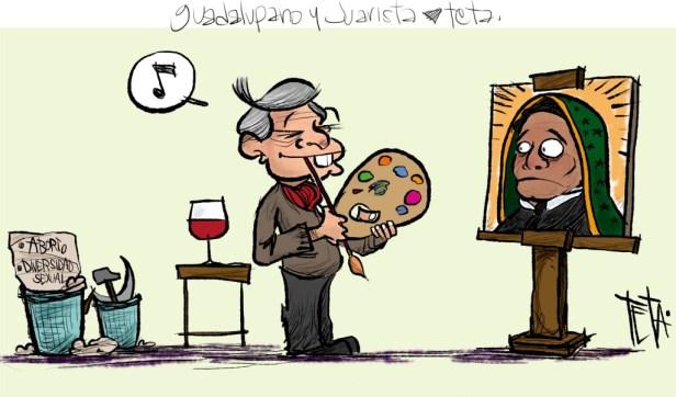 juarista y guadalupano
