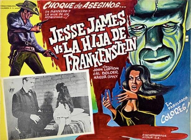 Jesse James Vs. La hija de Frankenstein