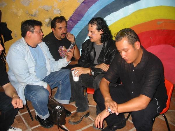 Felix Morriña y José Cruz