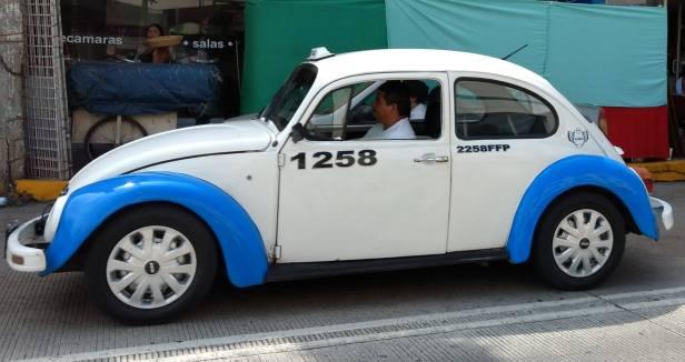 Taxistas en Acapulco