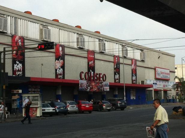 Coliseo Monterrey.